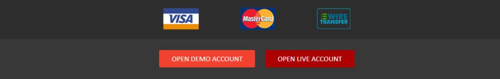 FteFXPro payment options