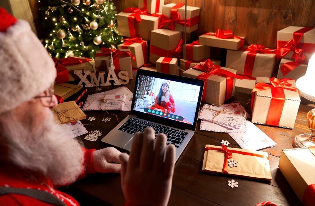 Santa and online platforms