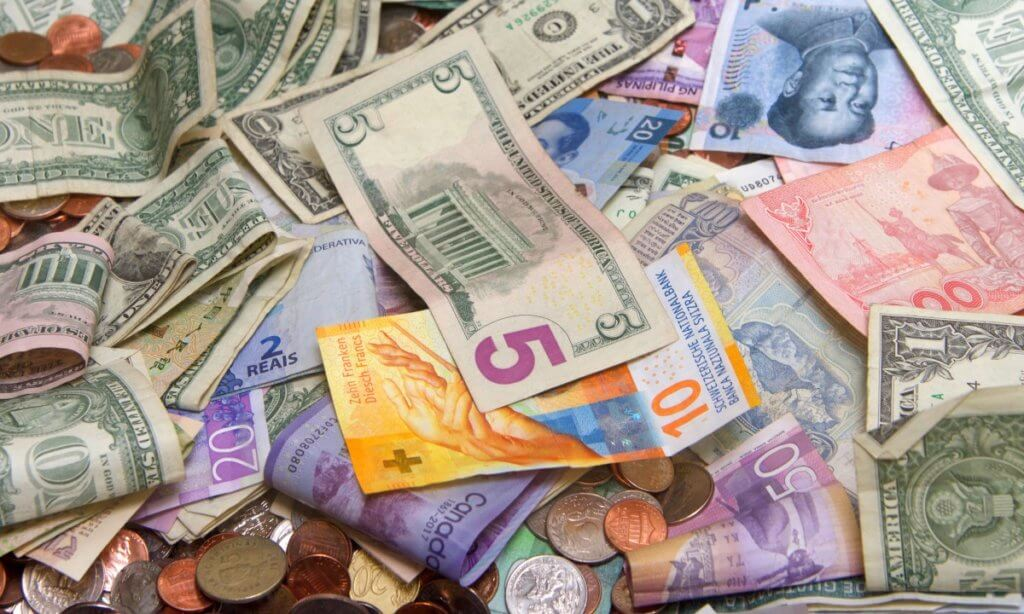 dollar and other forex currencies